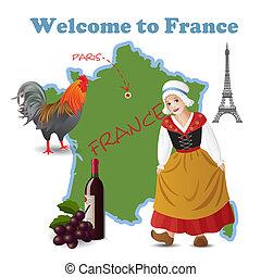 benvenuto, francia