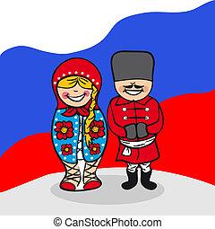 benvenuto, russia, persone