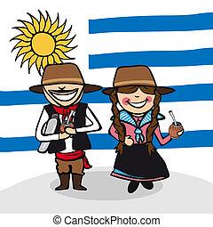 benvenuto, uruguay, persone
