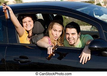 bere, minorenne, guida