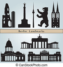 berlino, limiti, monumenti