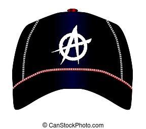 berretto, baseball, anarchia