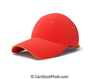 berretto, rosso