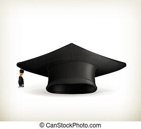berretto, vettore, graduazione