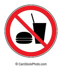 bevanda, nessuno cibo