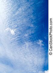 bianco, clouds.