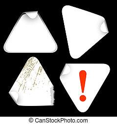 bianco, etichette