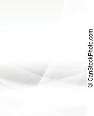 bianco, illustrazione, eps10.vector, fondo, astratto, curva