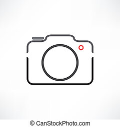 bianco, macchina fotografica