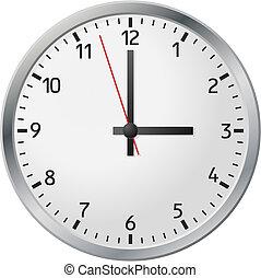 bianco, orologio