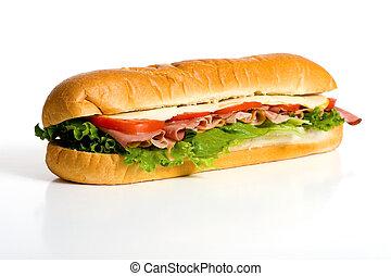 bianco, panino