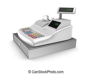 bianco, registro, contanti, fondo