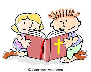 bibbia, bambini