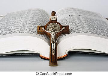 bibbia, croce