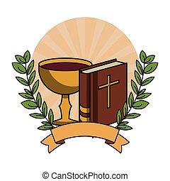 bibbia, libro, santo