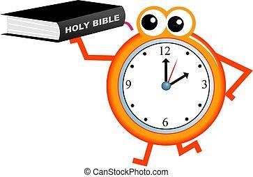 bibbia, tempo