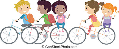 bicicletta, bambini