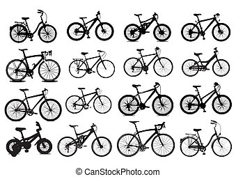 bicicletta, icona
