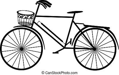 bicicletta, retro