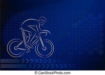 bicycles, manifesto, disegno