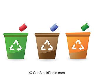 bidoni, riciclaggio