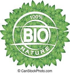 bio, simbolo, congedi verdi
