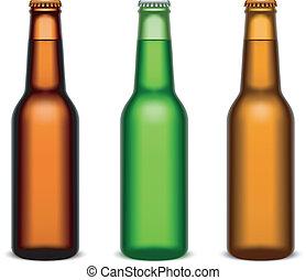 birra, bottles.