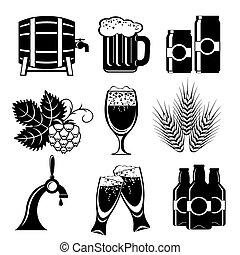 birra, icone