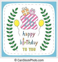 birthday26, felice