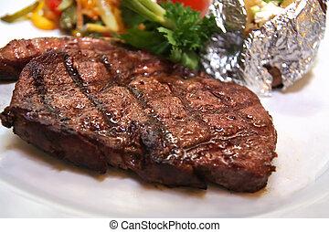 bistecca, controfiletto