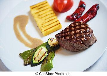 bistecca, saporito
