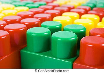 blocco, multicolor