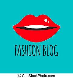 blogger, moda, logotipo