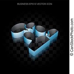 blu, 10, fatto, affari, carta, eps, icon:, vector., 3d, riunione, trasparente, uggia