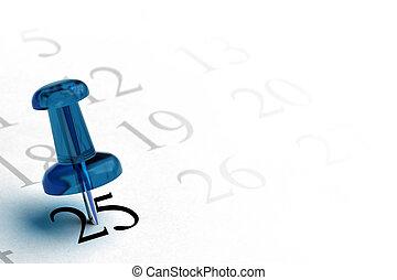 blu, 25, ordine del giorno, colorare, numero, elemento, grigio, altro, disegno, numeri, fondo, angolo, bianco, sinistra, pagina, thumbtack, nero