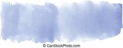 blu, acquarello, bandiera