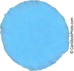 blu, acquarello, disegnare elemento
