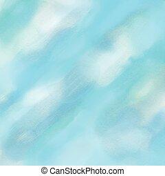 blu, acquarello, fondo
