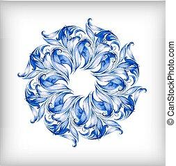 blu, acquarello, vettore, background?