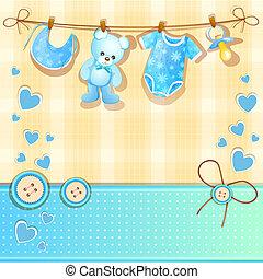 blu, acquazzone bambino, scheda