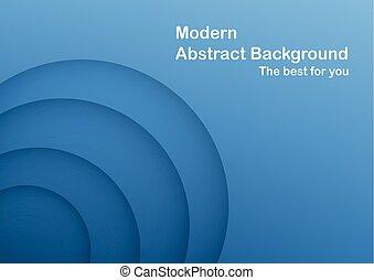 blu, astratto, curva, space., fondo, copia