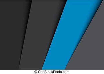 blu, astratto, grigio, illustrazione, carta, fondo, vettore, fogli, colori, nero
