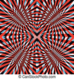 blu, astratto, linea, fondo, rosso