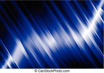 blu, astratto, linea, fondo