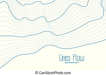 blu, astratto, linee, fondo, bianco, contorno