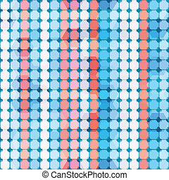 blu, astratto, linee, seamless