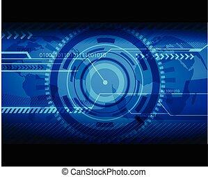 blu, astratto, text., illustrazione, posto, tecnologia, tuo