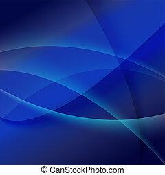 blu, astratto, vettore, fondo, illustrazione