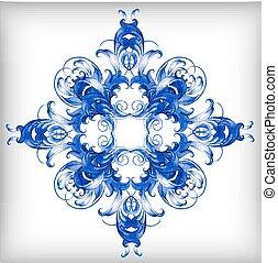 blu, background?, acquarello, vettore