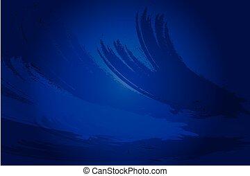blu, backgrouund, grunge, struttura